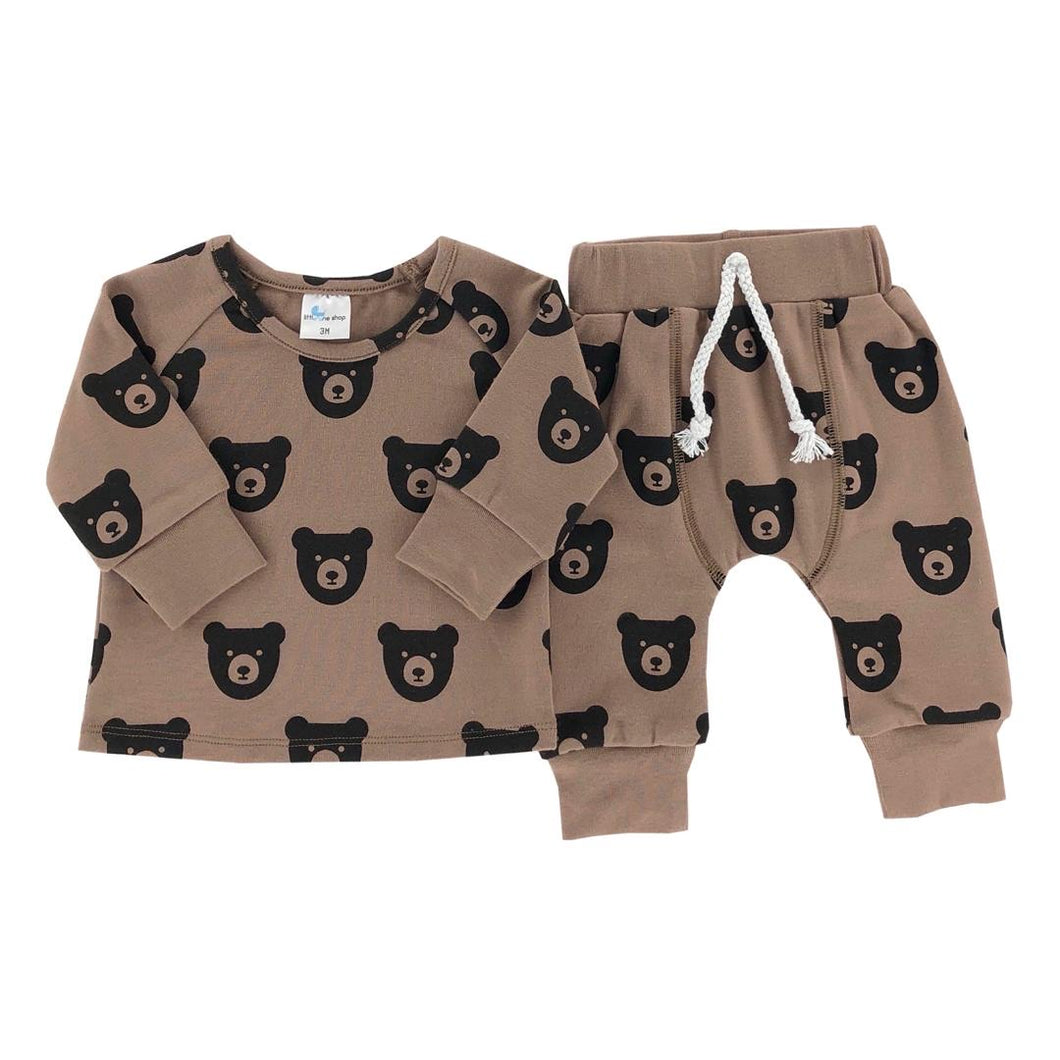 Brown Bear Lounge Set