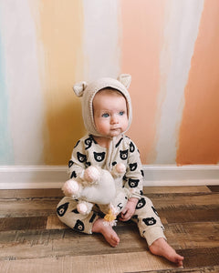 Oatmeal Bear Lounge Set