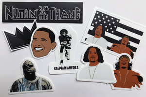 Vinyl Sticker Pack - Stankonia, Kaeptain America, B.I.G., Barry O.