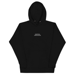 Habitual Linestepper Embroidered Unisex Hoodie