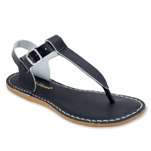 Black Traditional Thong Sandal