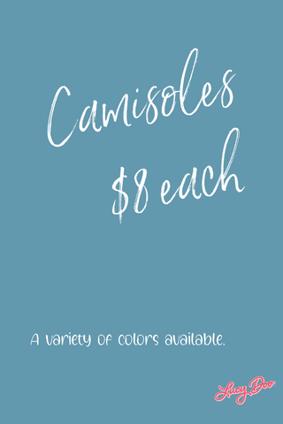 Camisoles (Many Colors Available)