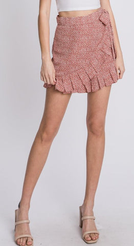 Tahitian Sunset Skort