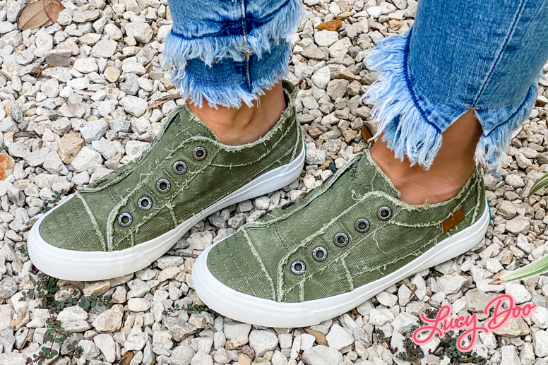 Ginger Green Sneakers