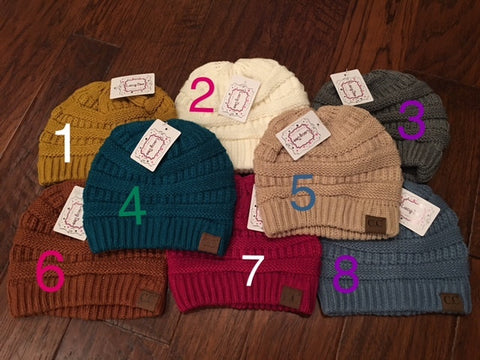Beanie (Assorted Colors)