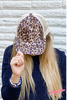 Tan & Brown Cheetah Hat