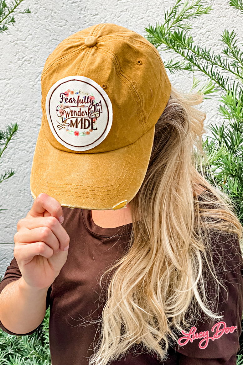 Fearfully & Wonderfully Made Hat