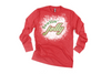 Red Feelin' Jolly Long Sleeve Tee