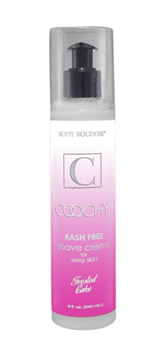 Coochy Rash Free Shave Creme - Frosted Cake - 8 Oz.