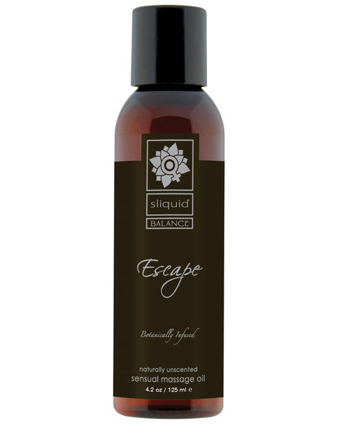 Sliquid Organics Massage Oil - Escape - 4.2 oz.