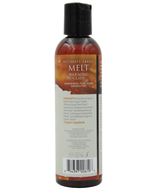 Intimate Earth Melt Warming Glide 4oz.