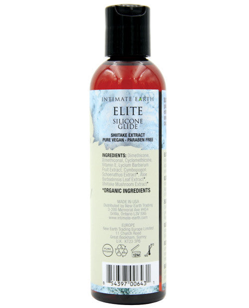 Intimate Earth Elite Silicone Glide 4oz.