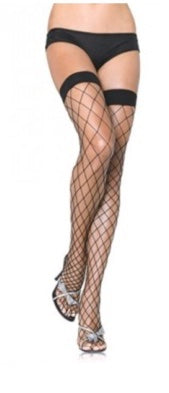 FENCE NET THIGH HIGHS-ONE SIZE