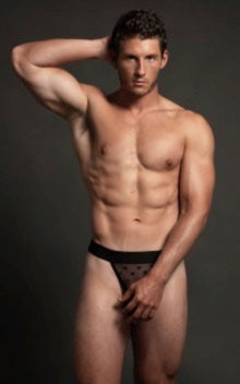 LUCA STAR JOCK-BLACK