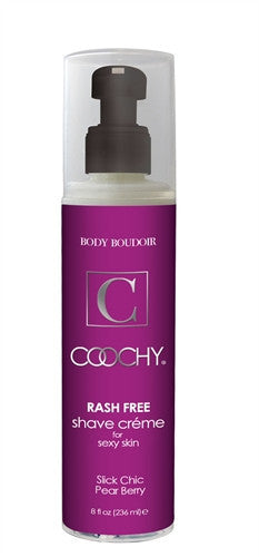 Coochy Rash-Free Shave Creme - Slick Chic Pear Berry - 8 Oz.