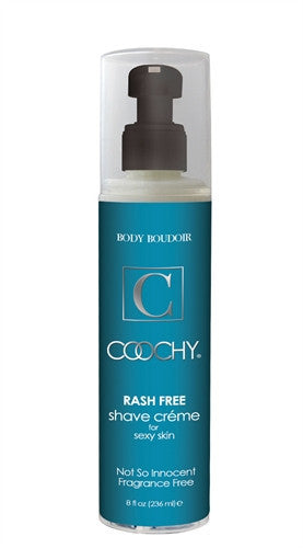 Coochy Rash-Free Shave Creme - Not So Innocent Fragrance Free - 8 Oz.