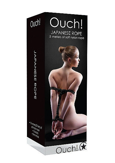 Ouch! Japanese Rope 5 Meters - Black