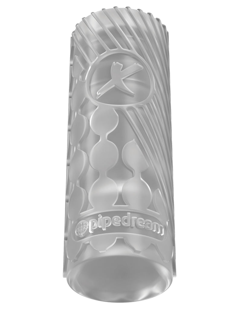 PDX Elite Ez Grip Stroker - Clear