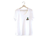 Pineapple Loose Pocket Tee