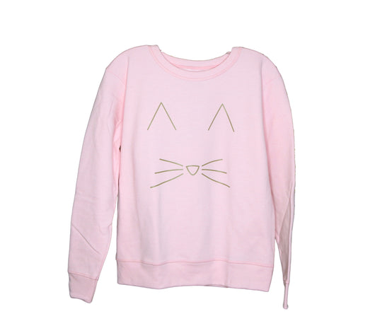 Kitty Cat Sweatshirt (Pink)