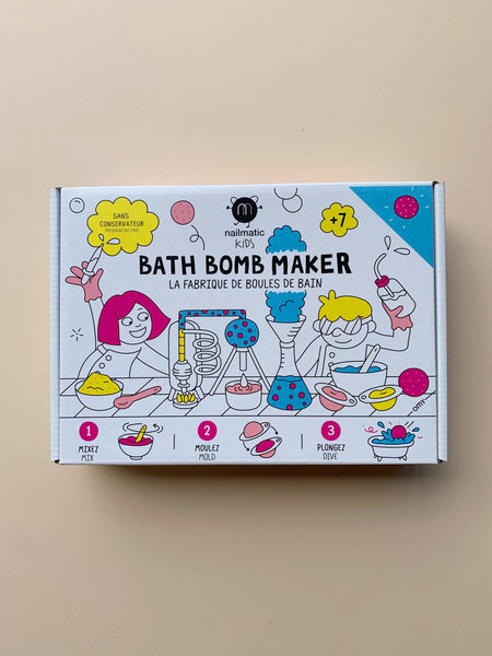 Nailmatic Bath Bomb Maker Kit