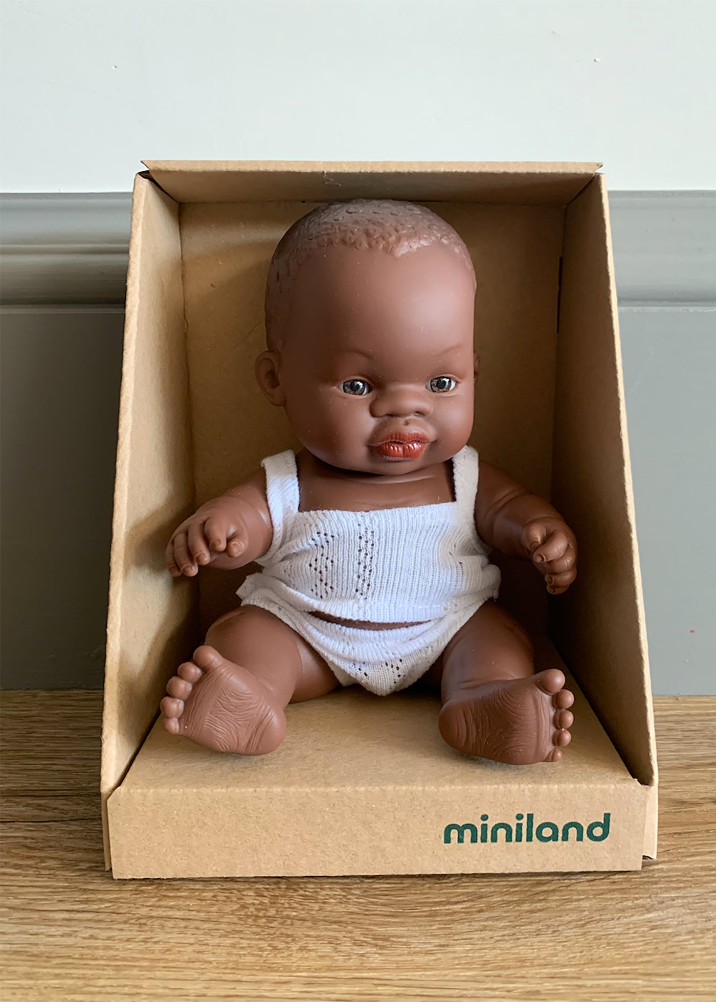Miniland African Mini Baby (Boy or Girl) 21cm