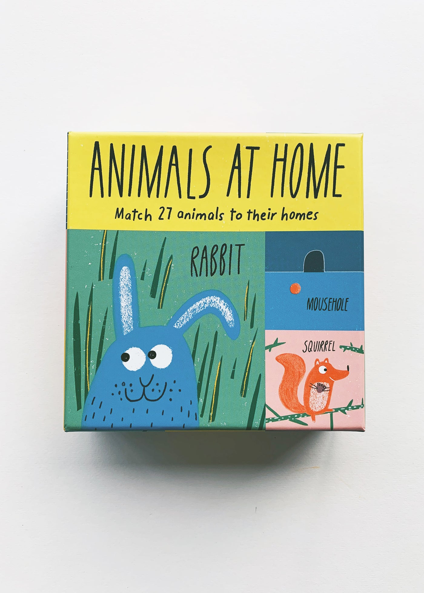 Animals at Home: A Matching Game