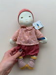 Moulin Roty Soft Toy Baby- Rose