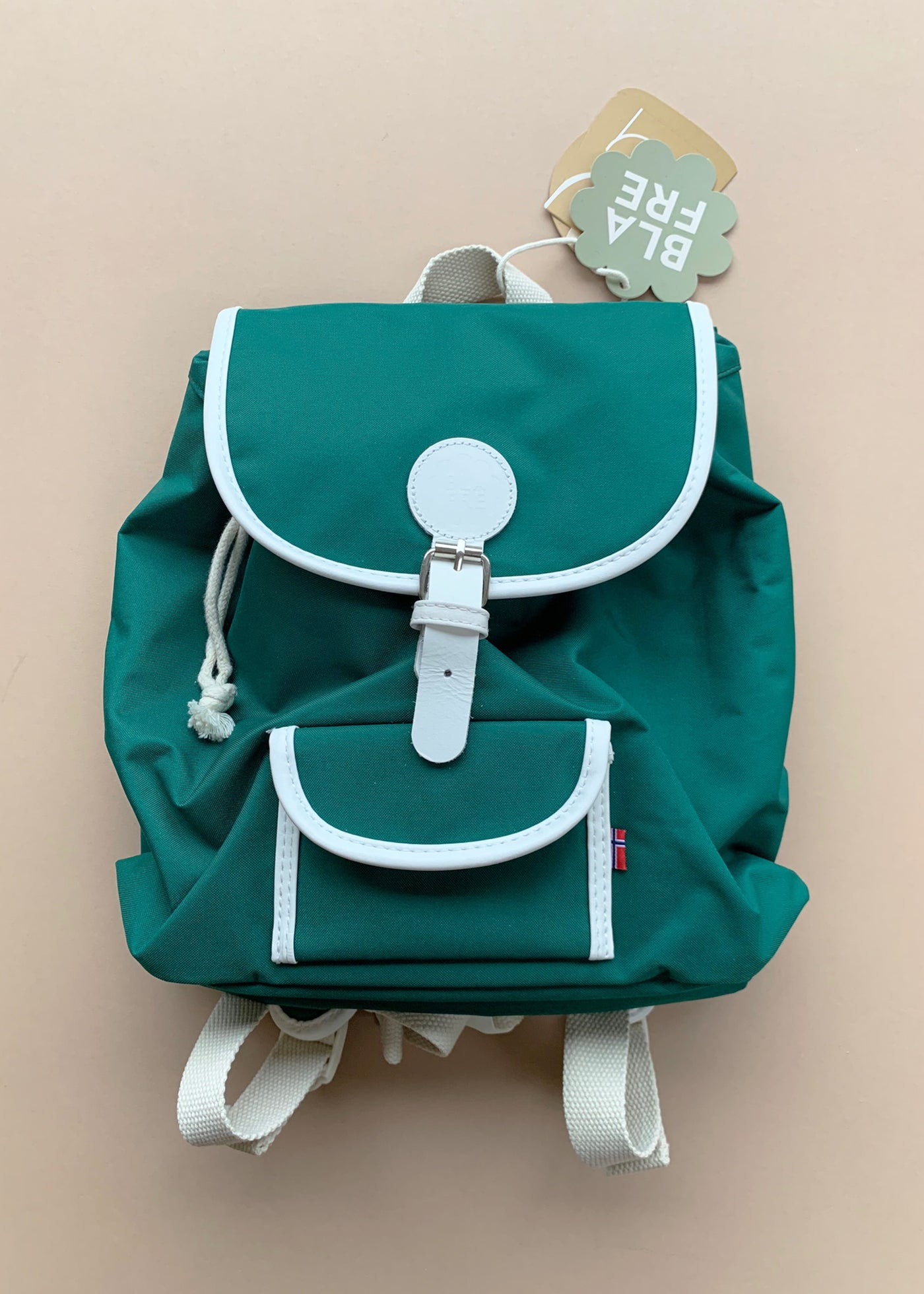 Blafre Medium Backpack in Forest Green
