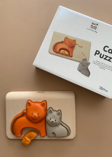 Plan Toys Wooden Cat Puzzle