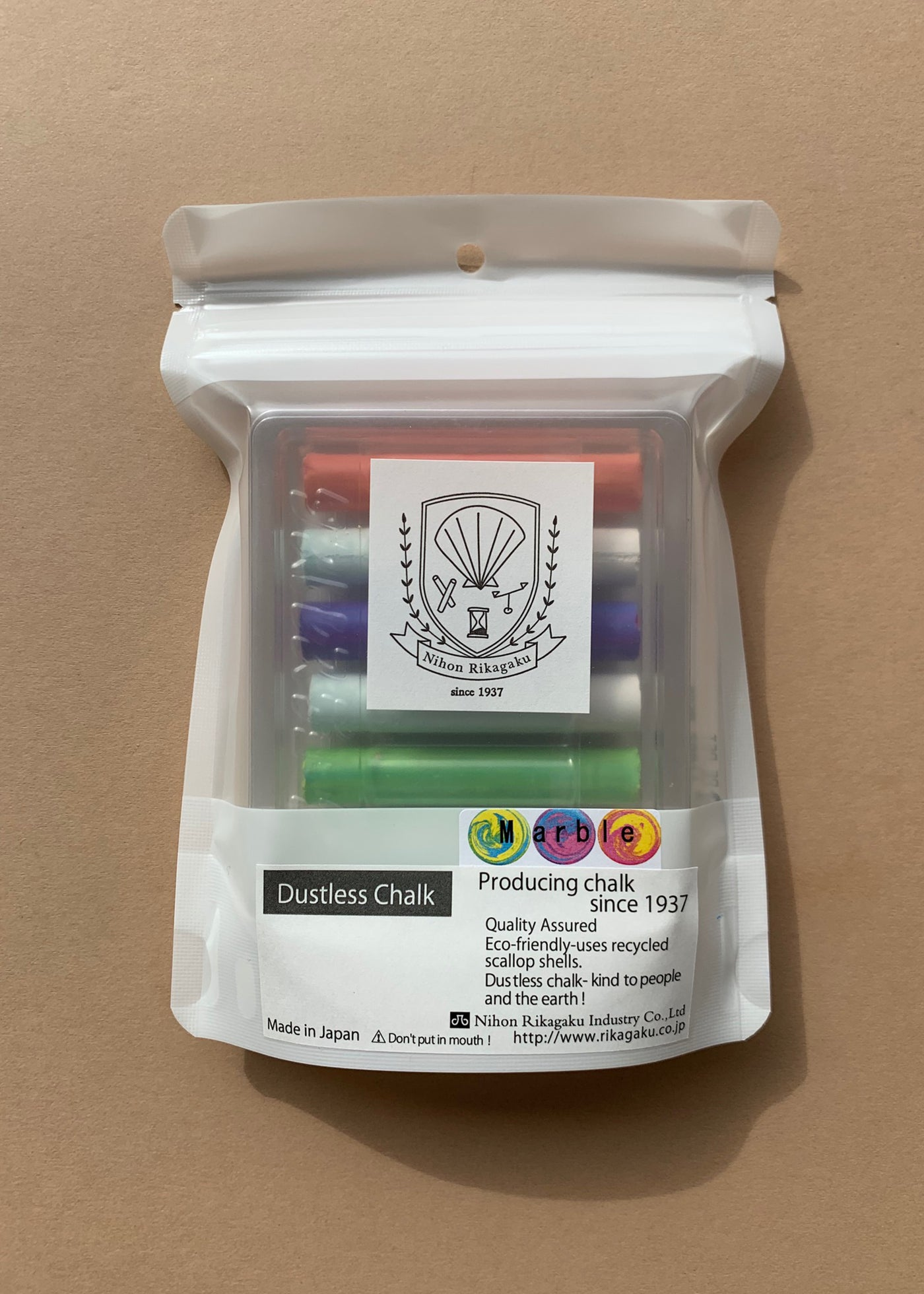 Kitpas Dustless Chalk in Marble