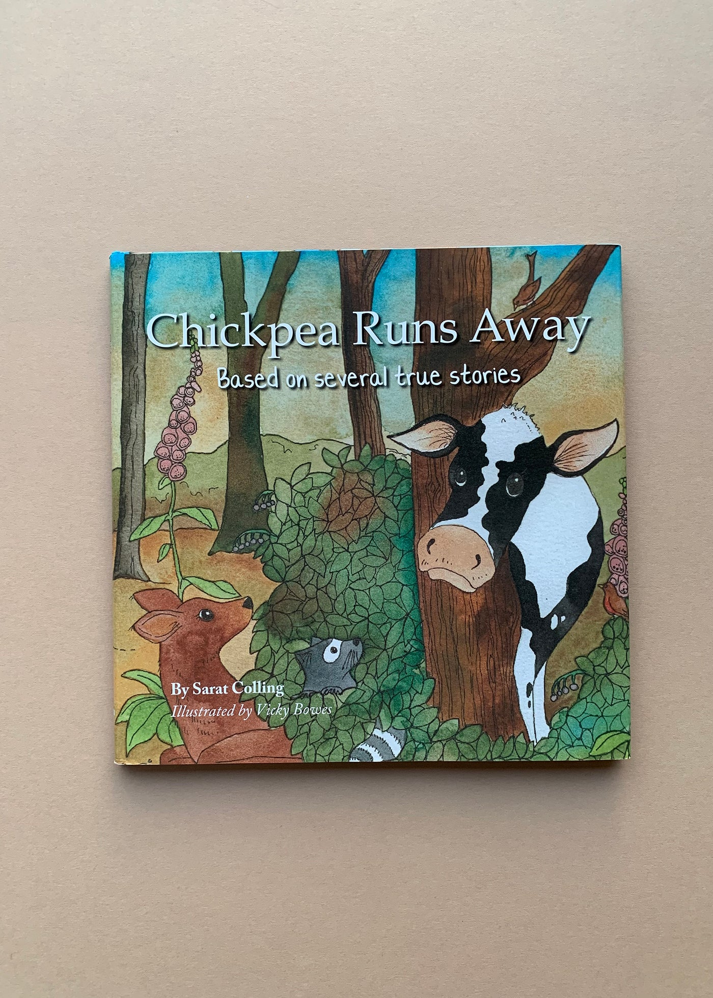 Chickpea Runs Away by Sarat Colling