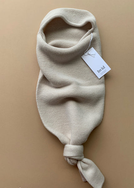 Hvid Merino Wool Baby Cocoon in Off-White