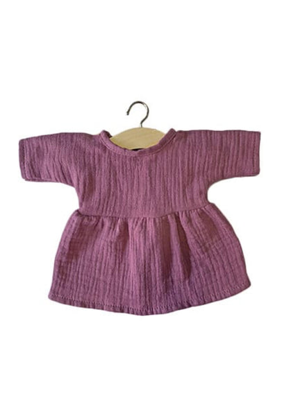 Minikane x Paola Reina 34cm Doll Dress in Grape