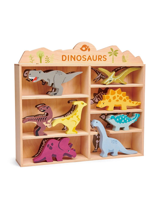 Tender Leaf Toys | Dinosaurs and Shelf