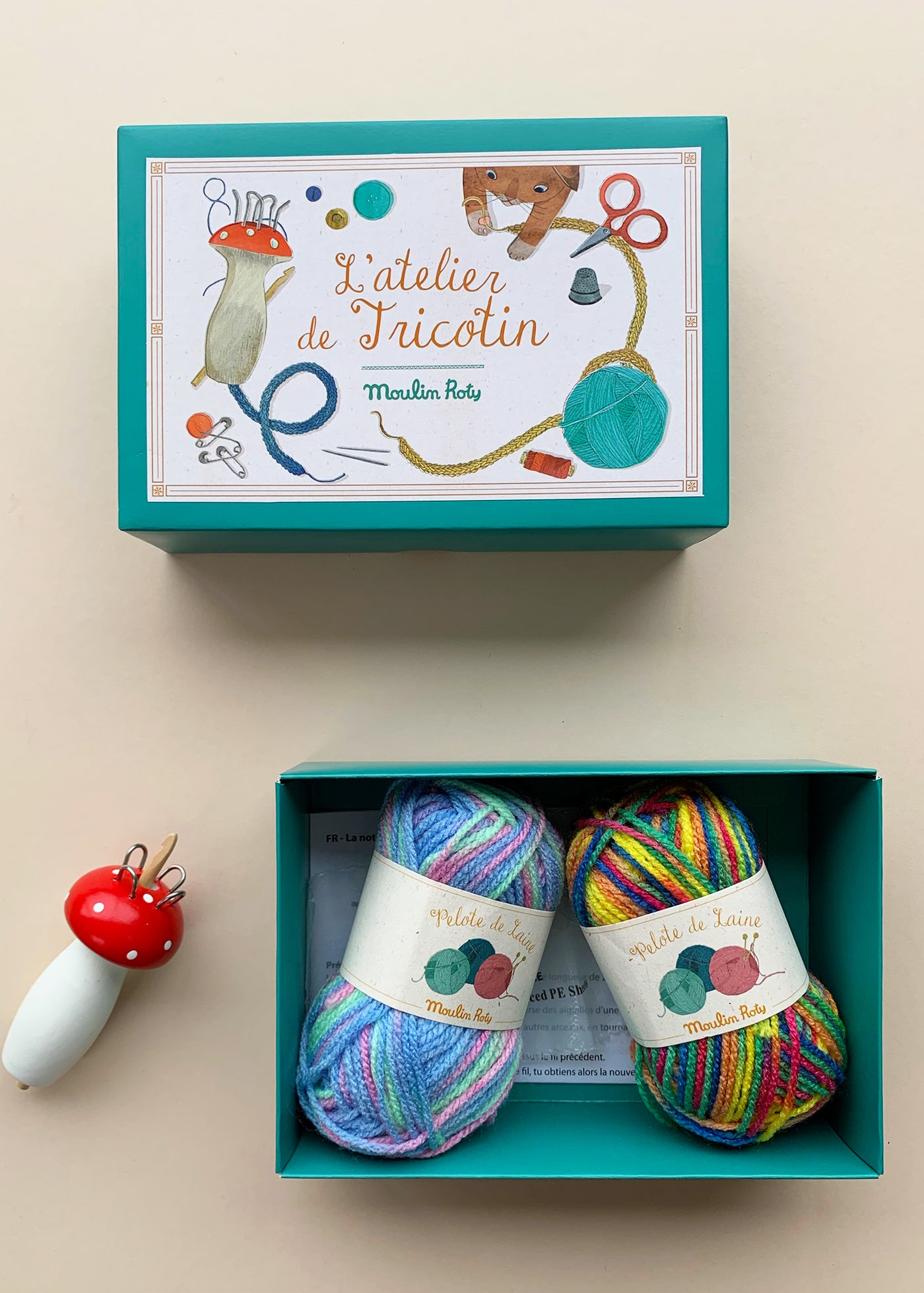 Moulin Roty French Knitting Kit