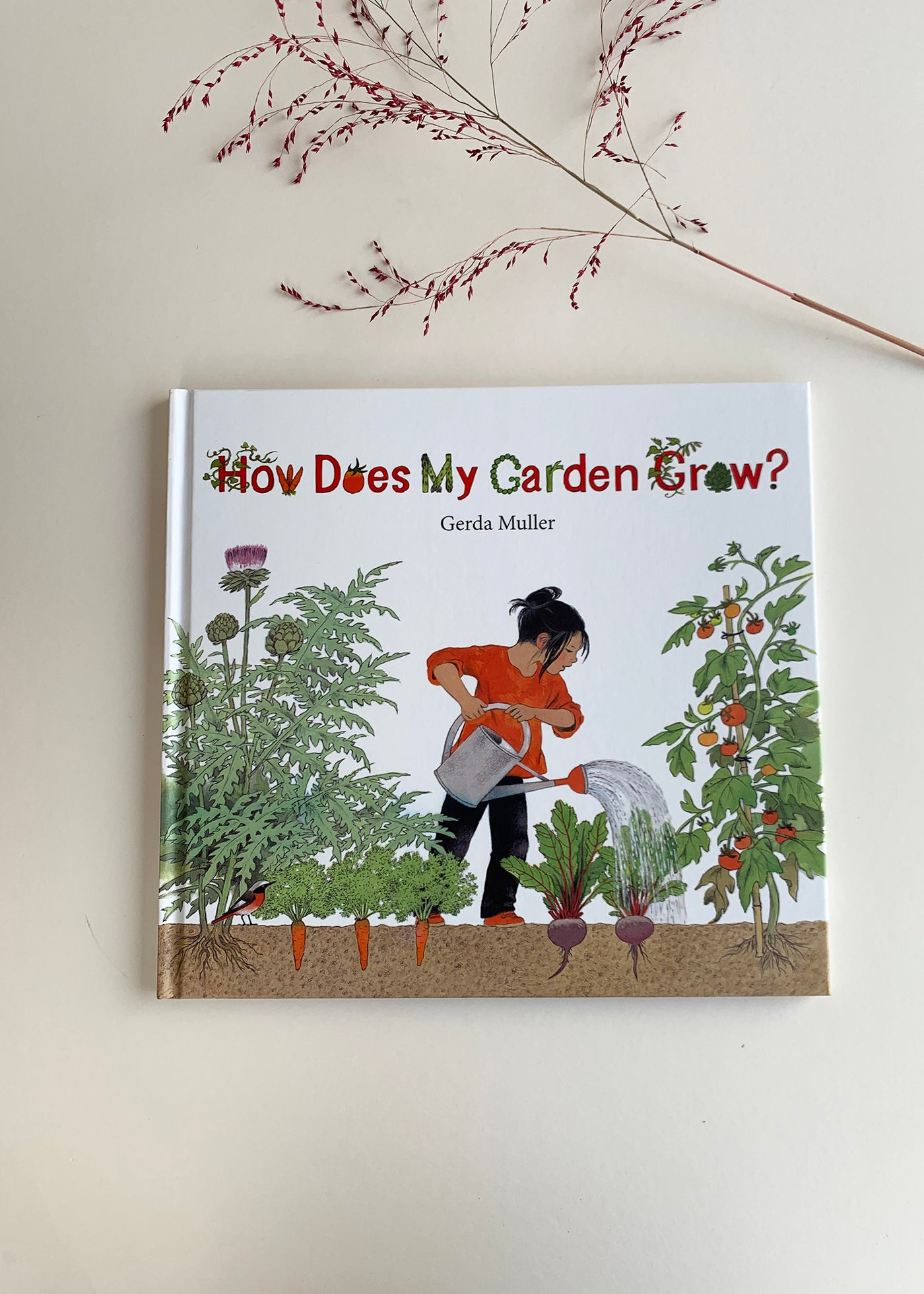 How Does My Garden Grow (Hardcover) by Gerda Muller