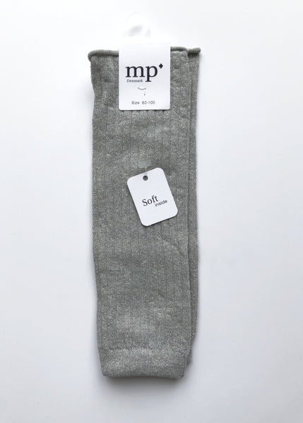 MP Denmark Leg Warmers in Silver Grey Mel