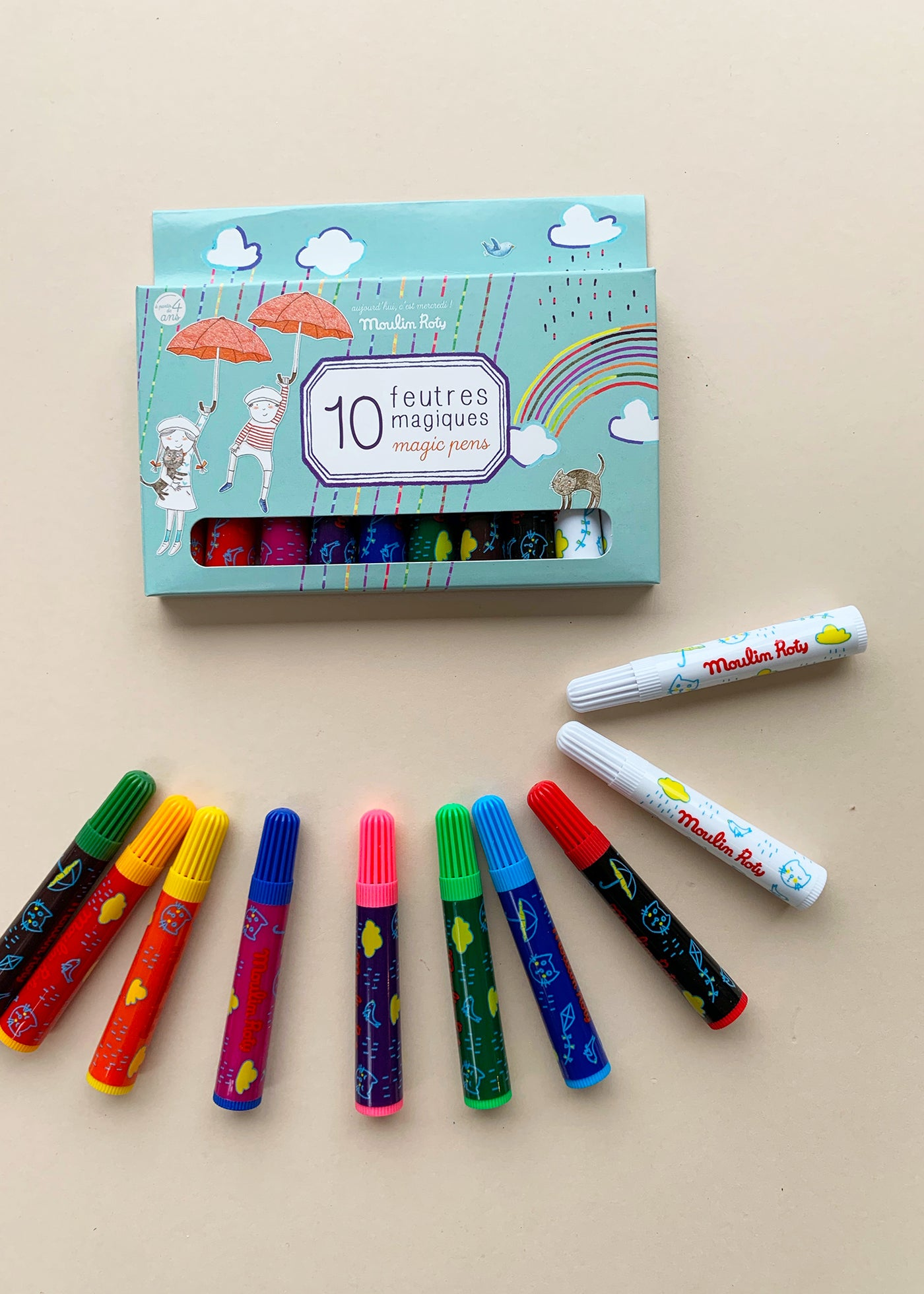 Moulin Roty 10 Magic Pens