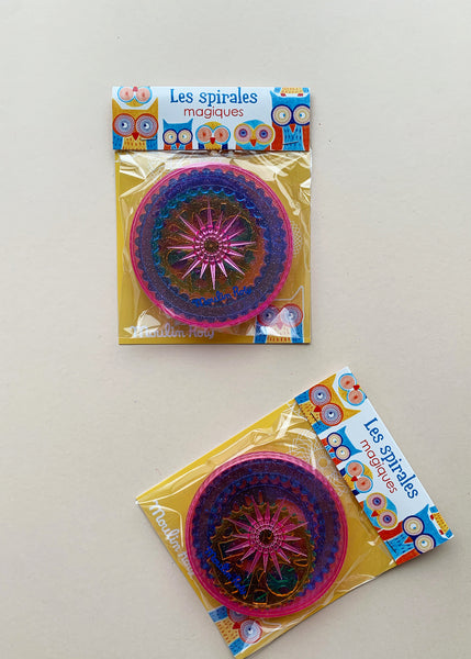 Moulin Roty Magic Art Spirals Mini Set