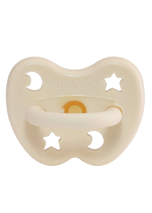 Hevea Natural Orthodontic Dummy in Milky White (3-36M)