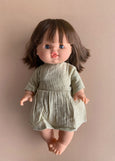 Minikane x Paola Reina 34cm Doll Dress in Pistachio Green