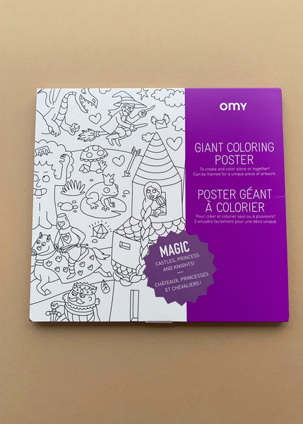 OMY Giant Colouring Poster Magic