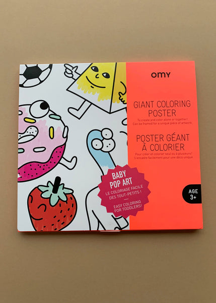 OMY Giant Colouring Poster Pop Art