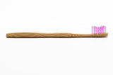 The Humble Brush Pink Kids Bamboo Brush