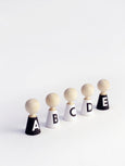 Rock & Pebble Alphabet Decorate Your Own Wooden Pebble Set