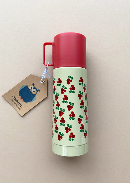 Blafre 330ml Vacuum Flask with Redcurrants