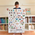 Poppik Discovery Sticker Poster: Insect | Poster + 44 Stickers