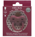 Hevea Natural Orthodontic Dummy in Ruby (3-36M)
