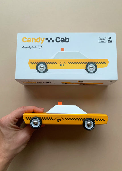 Candylab Beech Wood Taxi Cab